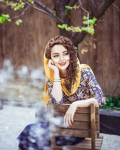 Image may contain: 1 person, sitting and outdoor Cute Girl Poses, Cute Girl Pic, Girl Photo Poses, Stylish Girls Photos, Stylish Girl Pic, Girl Pictures, Girl Photos, Beautiful Iranian Women, Iranian Beauty