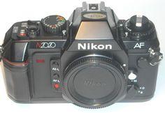 NIKON N2020 AUTO FOCUS CAMERA - MINT -, BOX PLUS MORE! A RARE FIND!  #NIKON