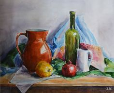 still life watercolors - Google Search