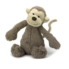 Jelly Cat - Bashful Medium Monkey 12""