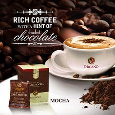 Rich Coffee with a hint of decadent chocolate.   torresfamilycafe.organogold.com or for free sample email me torresfamilycafe@gmail.com