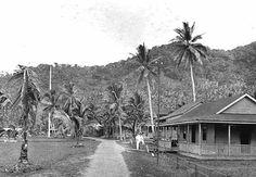 Main Road Fagatogo  Joseph L. Dwyer Collection