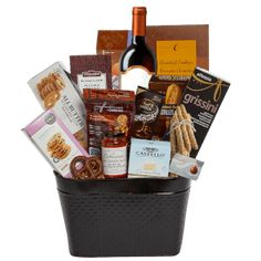 Gift Baskets Toronto - Nutcracker Sweet has a wide variety of Sweet and Savory Gift Baskets, Candy Vases and Mugs and Tantalizing Trays available for hand delivery in Toronto and Canada-wide. Gift Baskets Canada, Thank You Gift Baskets, Wine Gift Baskets, Thank You Gifts, Chocolate Oatmeal Cookies, Lindt Chocolate, Chocolate Covered Pretzels, Corporate Gift Baskets, Corporate Gifts
