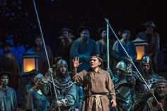 Turandot, de G. Puccini. Liù: Paulina González, Timur: Alexey Tikhomirov y Calaf: Kristian Benedikt. Foto: Patricio Melo.