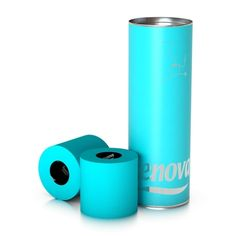 Blue Toilet Paper by Renova, 3 Roll Luxury Gift Box Go Blue, Teal Green, Aqua Blue, Colored Toilets, Black Toilet Paper, Colored Paper, Tiffany Blue, Paper Gifts, Tech Accessories