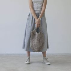 rope bag TERBA sand designed by smartART design made in Lithuania as part of Fashion and Women and Bags - image 1 on CROWDYHOSUE