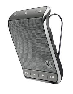 Born 2 impress: Born 2 Impress- Summer Must Have Products - Motorola Universal In Car Bluetooth Speaker Phone the Roadster 2 Review and Giveaway