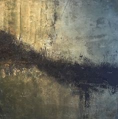 Demarcation by vicky pinney Oil ~ 36 x 36