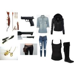 Designer Clothes, Shoes & Bags for Women Zombie Apocalypse Outfit, Zombie Apocalypse Survival, Apocalypse Fashion, Apocalypse Art, Badass Outfit, Badass Style, My Style, Edgy Outfits, Cool Outfits