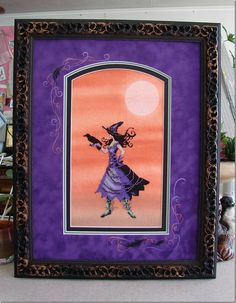 """Mirabilia (Nora Corbett) Cleo- Bewitching Pixies on Sunny Dyes Fabrics """"witching hour"""" by Kathy M."""