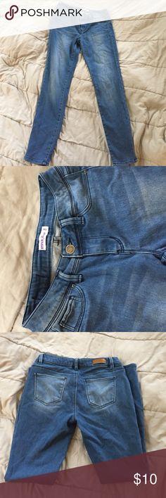 Jeggings Blue jegging comfy soft material gently used Charlotte Russe Jeans Skinny