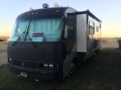 1997 Used Holiday Rambler Endeavor Class A in North Dakota ND.Recreational Vehicle, rv, 1997 Holiday Rambler Endeavor , This motorhome has been a blessing to our family and travel plans. Our family is changing and we would like to share this opportunity with a new family. The custom paint job was done in 2011 with a rhino liner front cover, all appliances work, it drives great with plenty of power, new tires, fully serviced, winterized, and prepared to go enjoy. It has a 275 HP Cat engine…