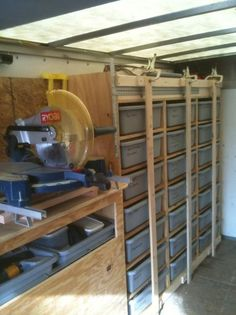 Tool trailer Organization