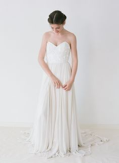 Truvelle 2016 Collection Launch: Beautiful, Cool Hued Wedding Dresses see more at http://www.wantthatwedding.co.uk/2015/09/17/truvelle-2016-collection-launch-beautiful-cool-hued-wedding-dresses/