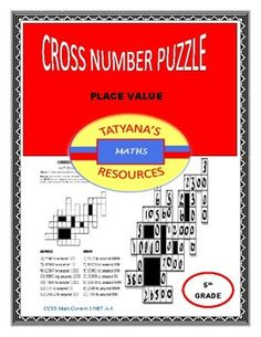 A fun Cross Number Puzzle to reinforce approximating numbers to nearest ten, hundred, thousand.This math resource includes:Cross number PuzzleKey/SOLUTIONIdeal for cooperative grouping, peer to peer or individually.