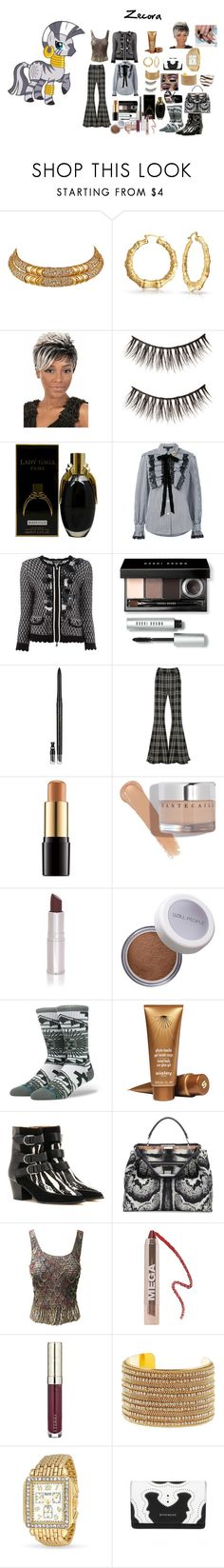 """My Little Pony: Zecora"" by mimi-world on Polyvore featuring Marina B, Bling Jewelry, Marc Jacobs, Twin-Set, Bobbi Brown Cosmetics, Estée Lauder, Beaufille, Lancôme, Chantecaille and VMV Hypoallergenics"