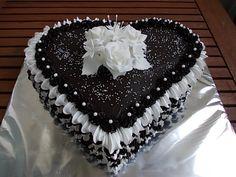 ** Krémovo -  čokoládové srdce **