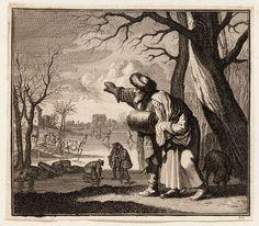 Hiems by C.Luyken, C. Weigel - 1700