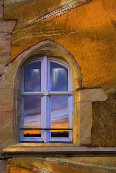 Gothique flamboyant by andrewagner, via Flickr  Gothic window in a surrealistic painting