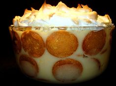 Southern Banana Pudding. Recipe on the Nilla vanilla wafers box. My mom made this all the time. It was one of my father's favorite desserts.