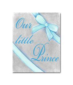 Prince Aqua Blue Kids Baby Nursery, Little Prince Art Print, Boy Nursery Decor, Kids Baby Boy Decor, Nursery Wall Art, Kids Decor by handpainting on Etsy https://www.etsy.com/listing/165735552/prince-aqua-blue-kids-baby-nursery
