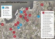 """El Concello aplaza la ampliación de """"zonas wifi"""" gratuitas por temor a que se ilegalicen"""