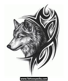 wolf_tattoo - Google zoeken