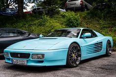 Ferrari 512TR MCM Della Costa Smeralda  It was made for MCM-label founder Michael Cromer from Munich.