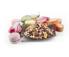 Marshmallow Macaron Herbal Tea