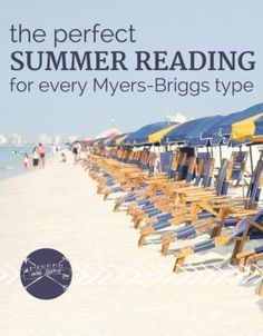 The perfect summer reading for every Myers-Briggs personality type. #mbti http://itz-my.com