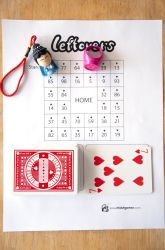 Here's a simple game for practicing division with remainders.