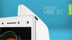 Play with Lenovo Vibe S1 Dual Front-Facing selfie cameras, 8MP and 2MP, also with 4G support.
