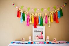 Cactus & Flamingo First Birthday Fiesta on Kara's Party Ideas   KarasPartyIdeas.com (37)