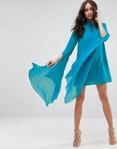 Buy Navy Asos Casual dress for woman at best price. Compare Dresses prices from online stores like Asos - Wossel Global Blue Party Dress, Prom Dresses Blue, Formal Evening Dresses, Party Dresses, Shift Dresses, Mini Dresses, Fashion Clothes Online, Online Shopping Clothes, Casual Dresses For Women