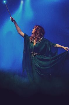 Florence Leontine Mary Welch, the loveliest witch of her age.