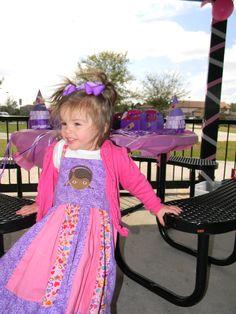 Doc McStuffin's Party Dress