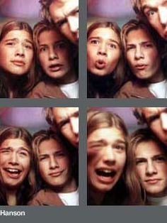 Yet another reminder of my freakish childhood obsession. Sigh. Made middle school even more difficult. Thanks a lot mmmbop - you got me teased.
