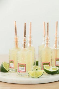 A Charming Way to Serve Mini Margaritas! #margaritas #cocktails #cincodemayo #party #summer #easyentertaining