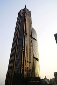 The Pinnacle is a 60-storey, 360 m, supertall skyscraper in the Tianhe District of Guangzhou, Guangdong, China. Construction of the 118,452 m² tower was completed in 2012, and resembles the Empire State Building, in New York City.