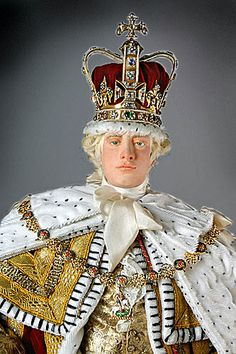 Portrait length color image of George III (Robes of state) aka. George III of England, George William Frederick, by George Stuart. Royal Families Of Europe, British Royal Families, King Henry Viii, Georgian Era, Church Of England, Royal House, King George, Queen Victoria, British History