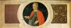 Piero della Francesca: Santa Ágata. Políptico de San Antonio.