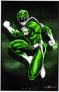 Green Ranger by Damon Bowie                                                                                                                                                                                 More