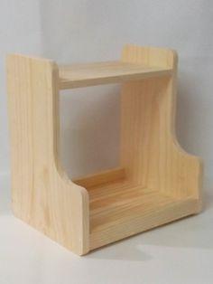 Exhibidor de madera