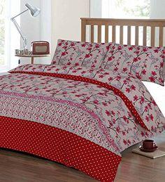 Single Hummingbird Duvet Cover & Pillowcase Set - Red Textiles Direct http://www.amazon.co.uk/dp/B017KPQQ0A/ref=cm_sw_r_pi_dp_gWSbxb03QB0Z4