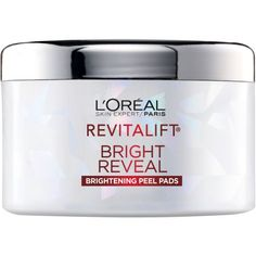 L'Oreal Paris Revitalift Bright Reveal Brightening Peel Pads, 30 count