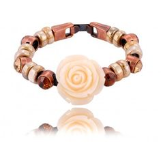 beige roses/bracelet By Dziubeka Roses, Florida, Beige, My Love, Bracelets, Clothes, Jewelry, Taupe, My Boo