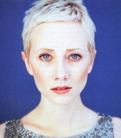 Short hair, Anne Heche