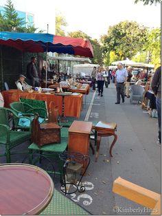 Porte de Vanves market, Paris, France