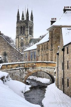 Helmsley: North Yorkshire, England