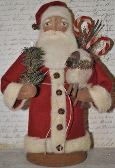 Prime Santa, Bonecas Boneco De Neve, Papai Noel, Coleção Sagrado, Decoração De Natal, Santa Doll'S, Santa Ho Ho, Ooak Santa, Luv Santa S